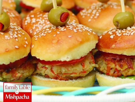Mock Crab Sliders