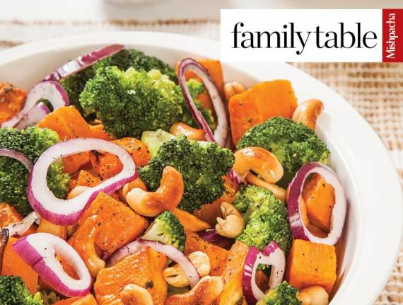 Roasted Sweet Potato-Broccoli Salad