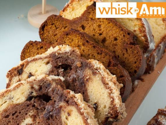 Marble Chocolate Chip Crumb Pound Cake