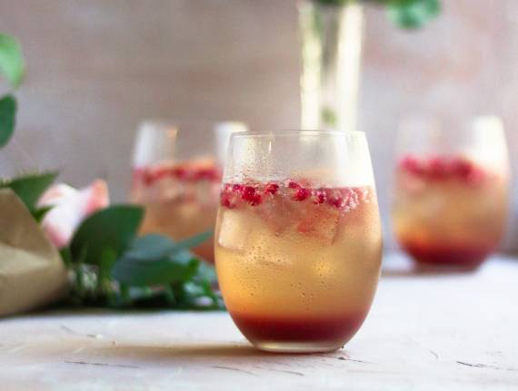 Grapefruit Pomegranate Spritzer