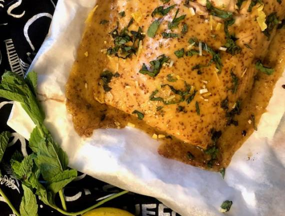 Quick and Easy Maple Mustard Salmon