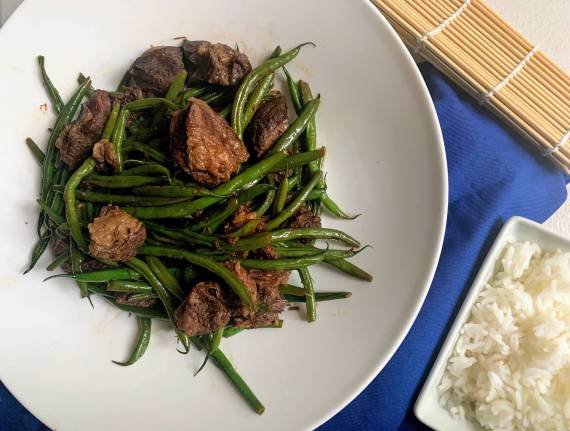 Instant Pot Beef and Green Beans