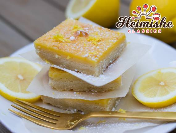 Light Lemon Squares
