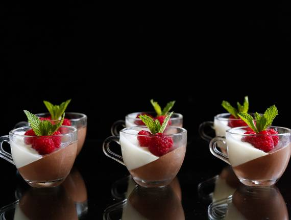 Mini Mousse Panna Cotta