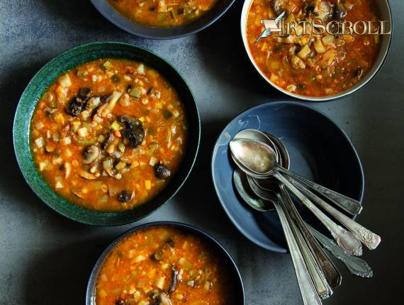 Mushroom Barley Soup Done Right