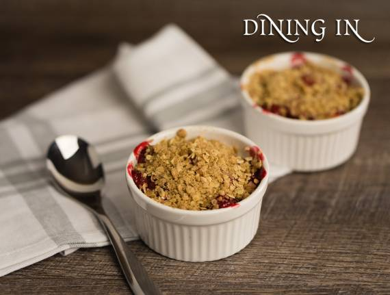 Oatmeal Apple Cherry Kugel