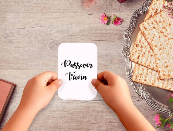 Keep Your Kids Engaged at the Seder with This Trivia Game