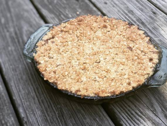 Peach-Apple Crisp