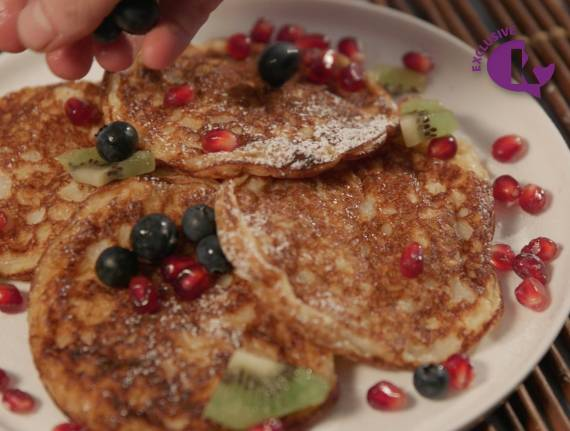 Skinny Cooking: Pesach Pancakes (Gluten Free)