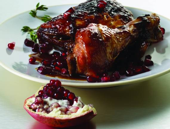 Pomegranate Chicken