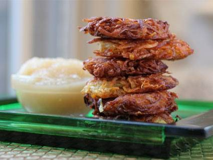 Classic Sweet Potato Latkes