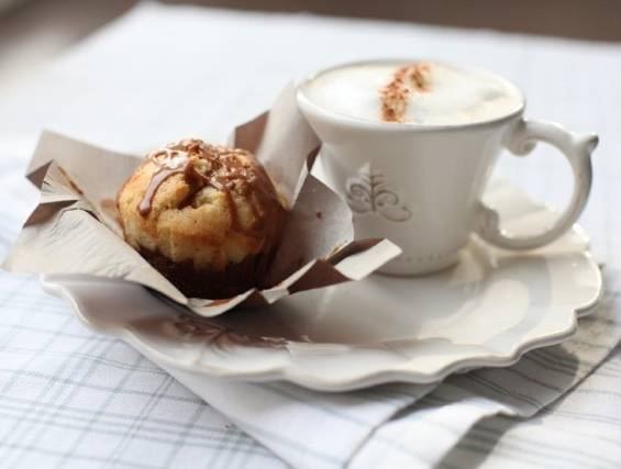 Shabbat Morning Cappuccino Milk Muffins
