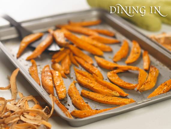 """Baked """"Spies"""" (Sweet Potato Fries)"""
