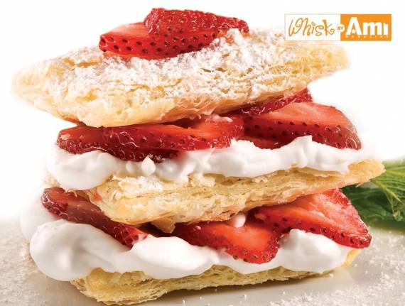Strawberries n' Cream Napoleon