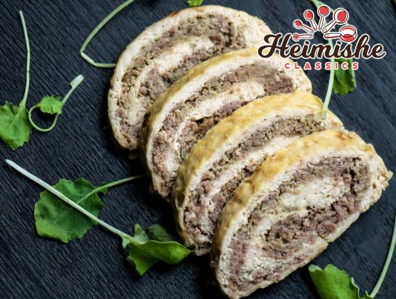 The Perfect White & Brown Meat Roll