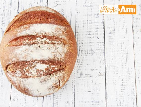 Whole Grain French Artisan Bread (Pain aux Céréales)