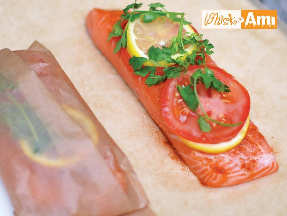 20-Minute Indian Salmon in an Envelope