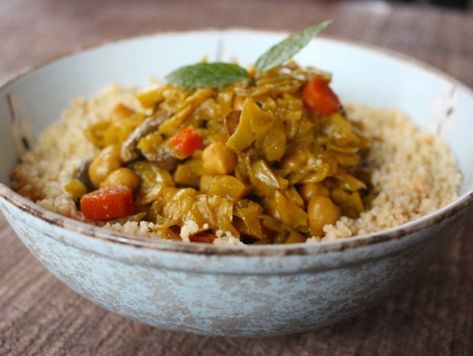 Cabbage and Vegetable Curry Stew