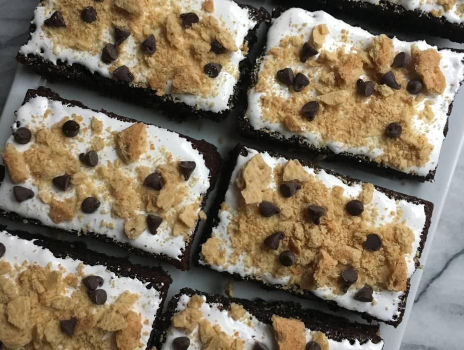 S'mores Brownies Bars