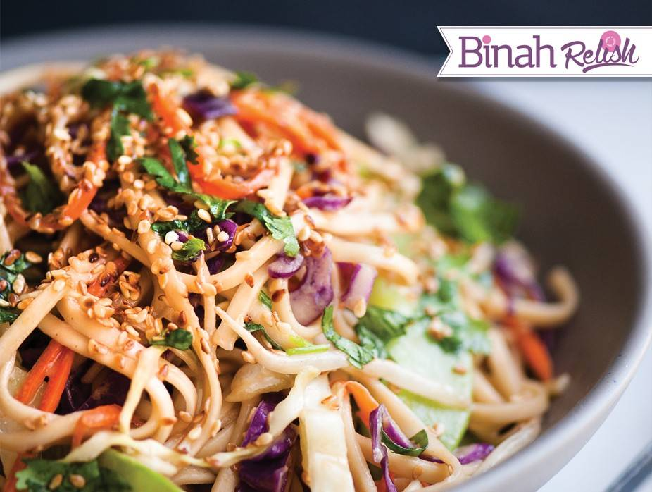 Cold Noodle Salad With Peanut Dressing