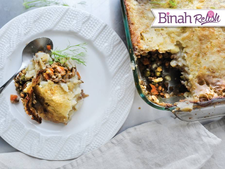 Vegetarian Shepherd's Pie | Recipes | Kosher.com