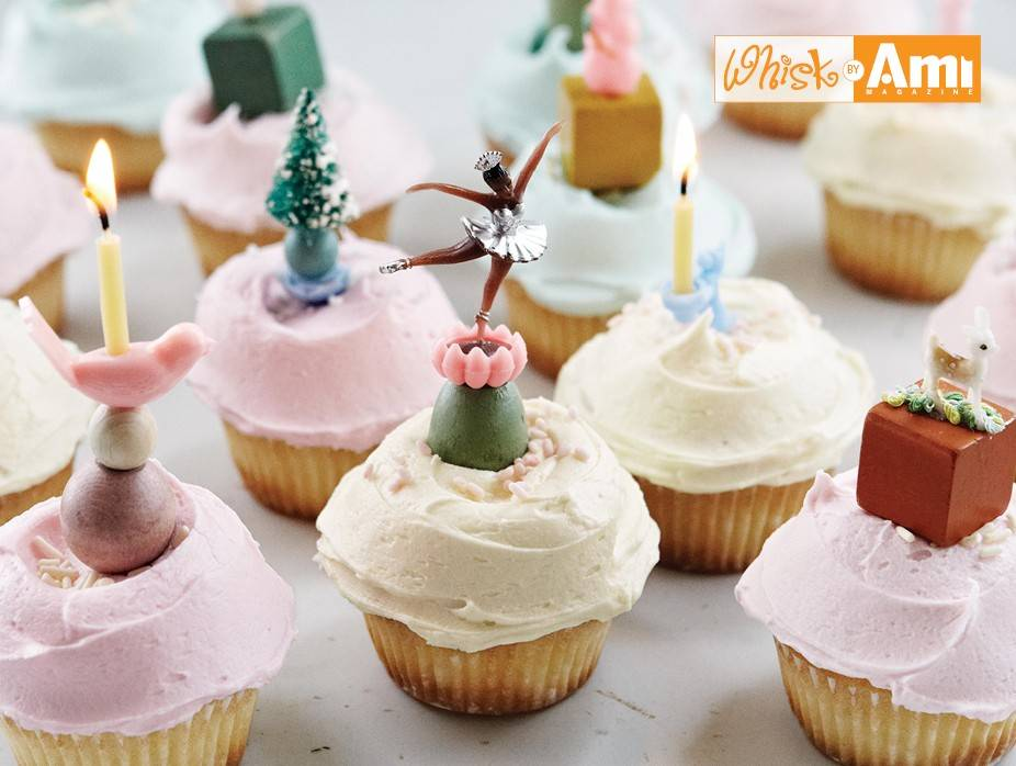Old-Fashioned Cupcakes with Buttercream Frosting