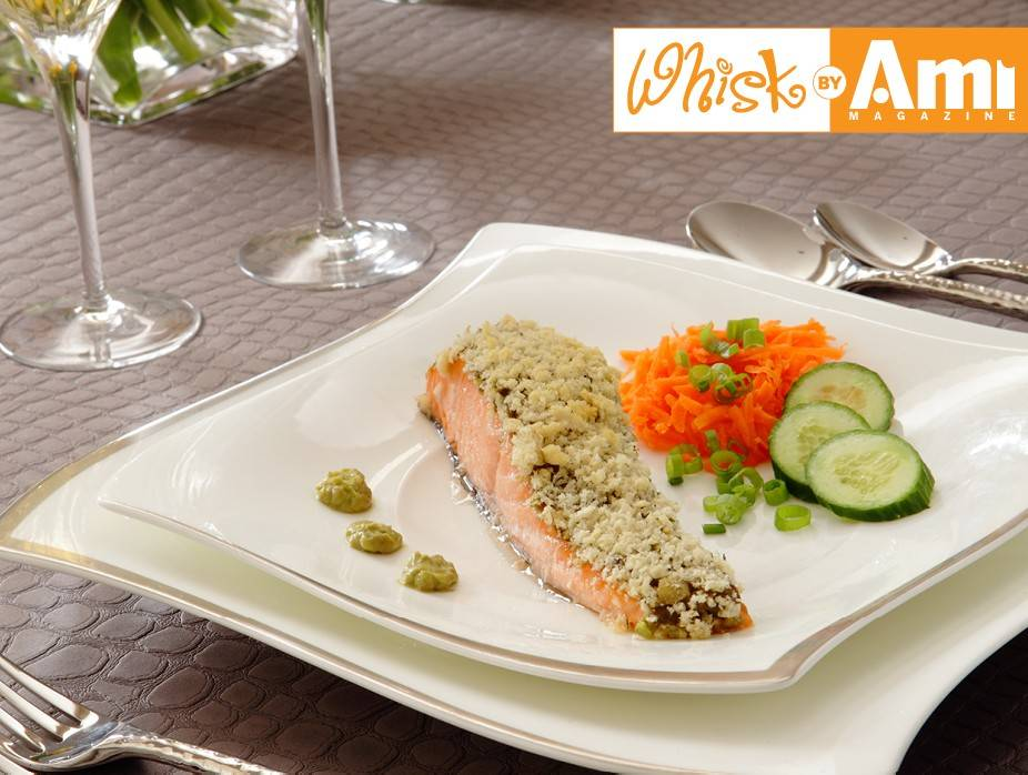 Avocado-Crusted Salmon