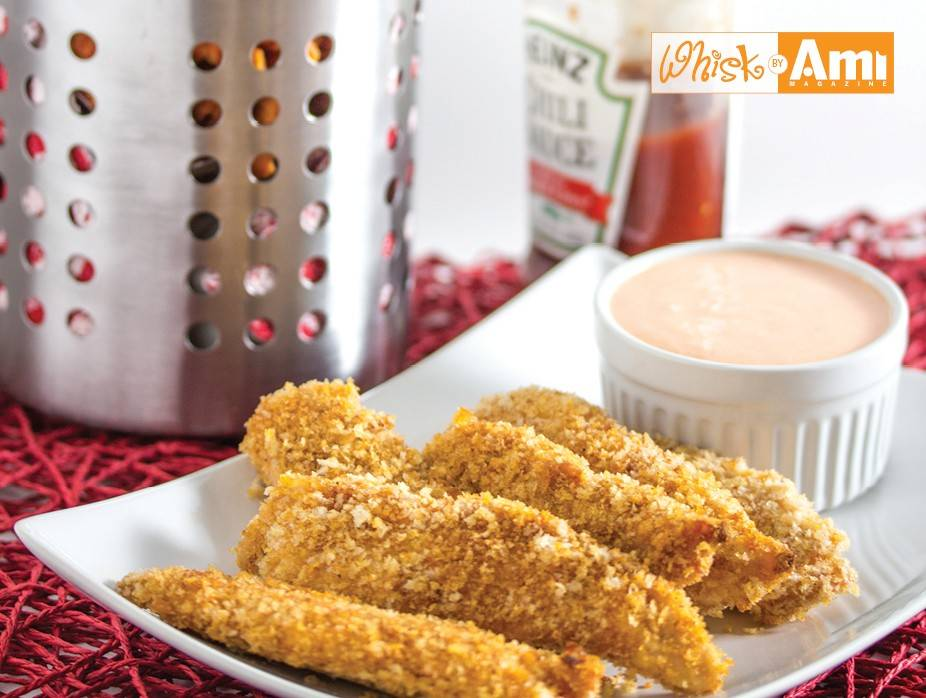 Baked Taco Chicken Fingers