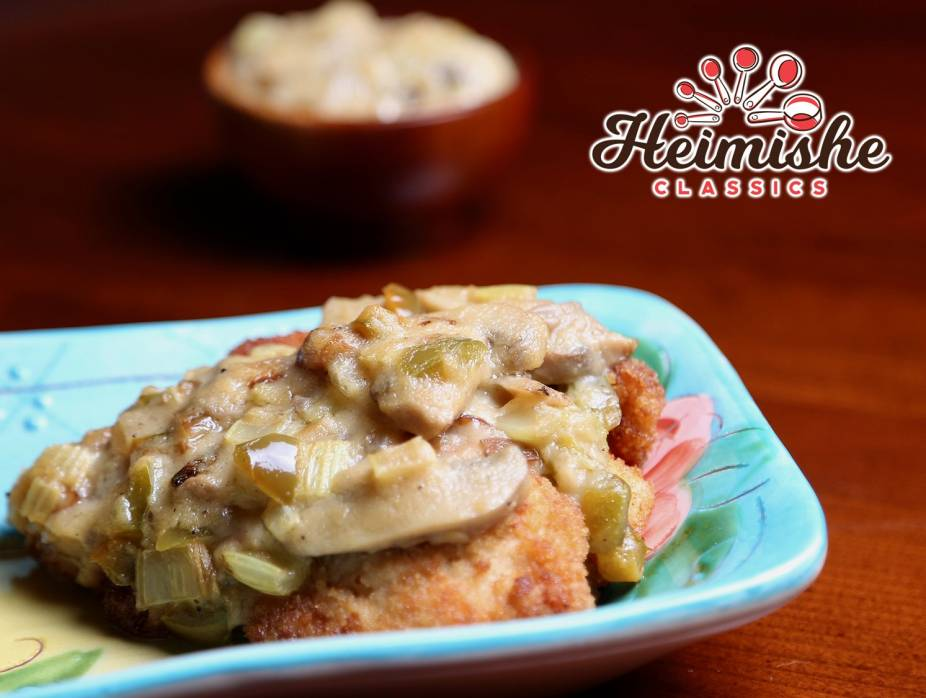 Breaded Veal or Chicken Cutlets with Sauce