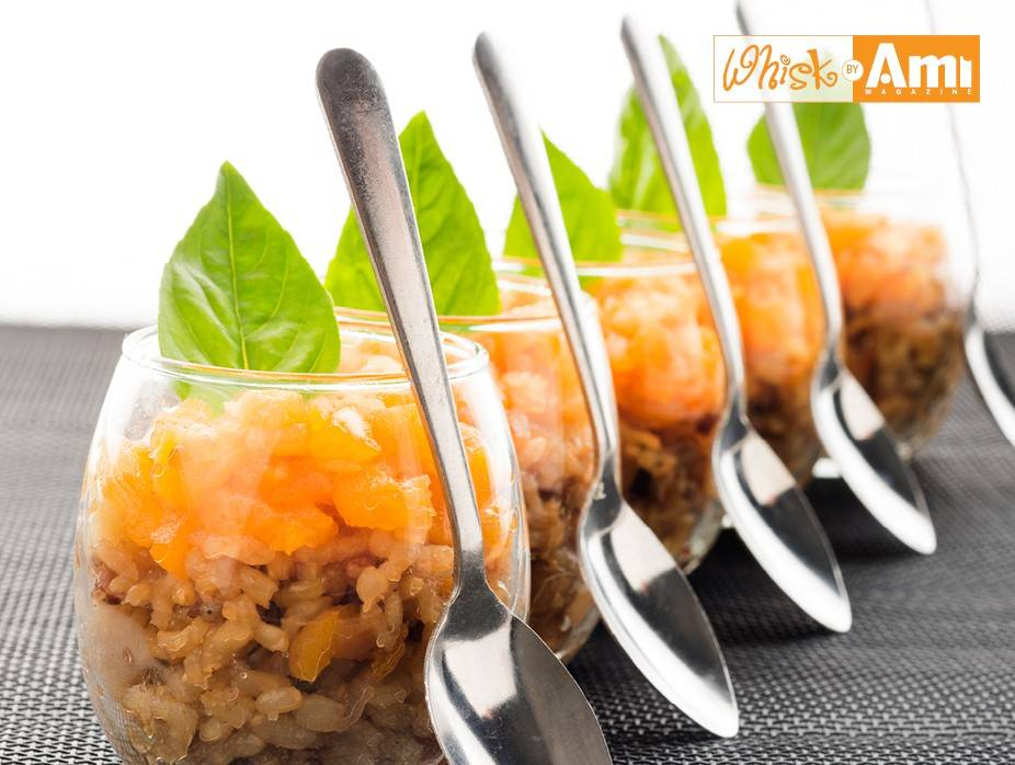 Brown & Wild Rice with Candied Fruit