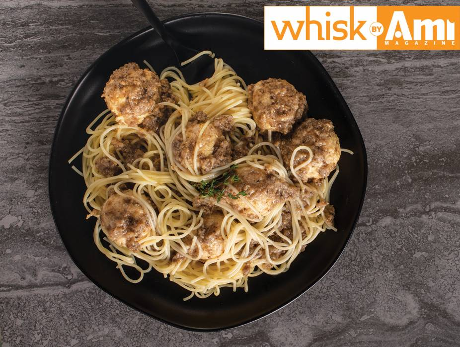 Chicken Meatballs in Mushroom Sauce