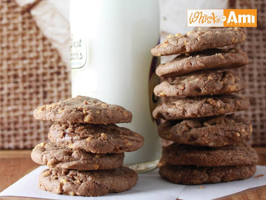 Chocolate Brittle Cookies