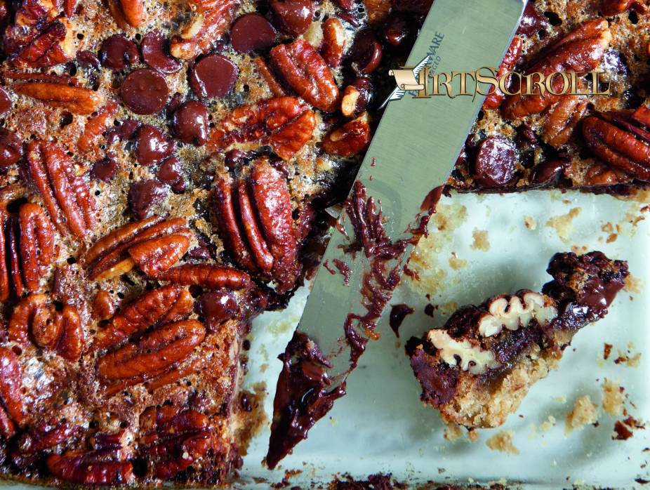 Irresistible Chocolate Pecan Bars