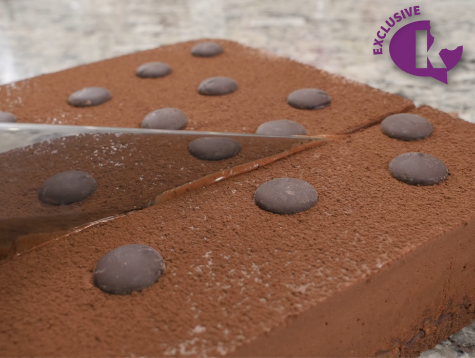 French Chocolate Royal Cake (Triple Chocolate Mousse Cake)
