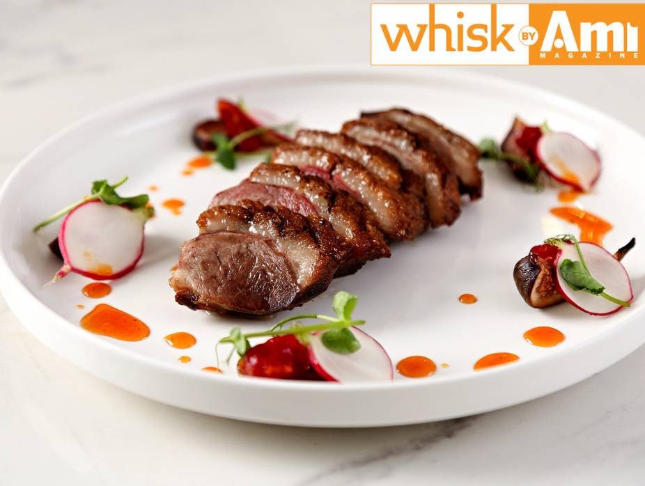 Duck Breast with Caramelized Figs