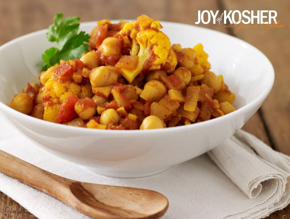 Slow Cooker Curried Chickpea Stew