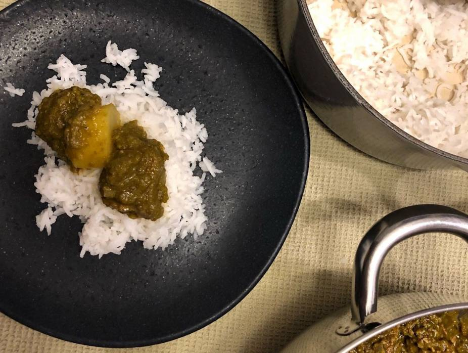 Bombay Green Curry
