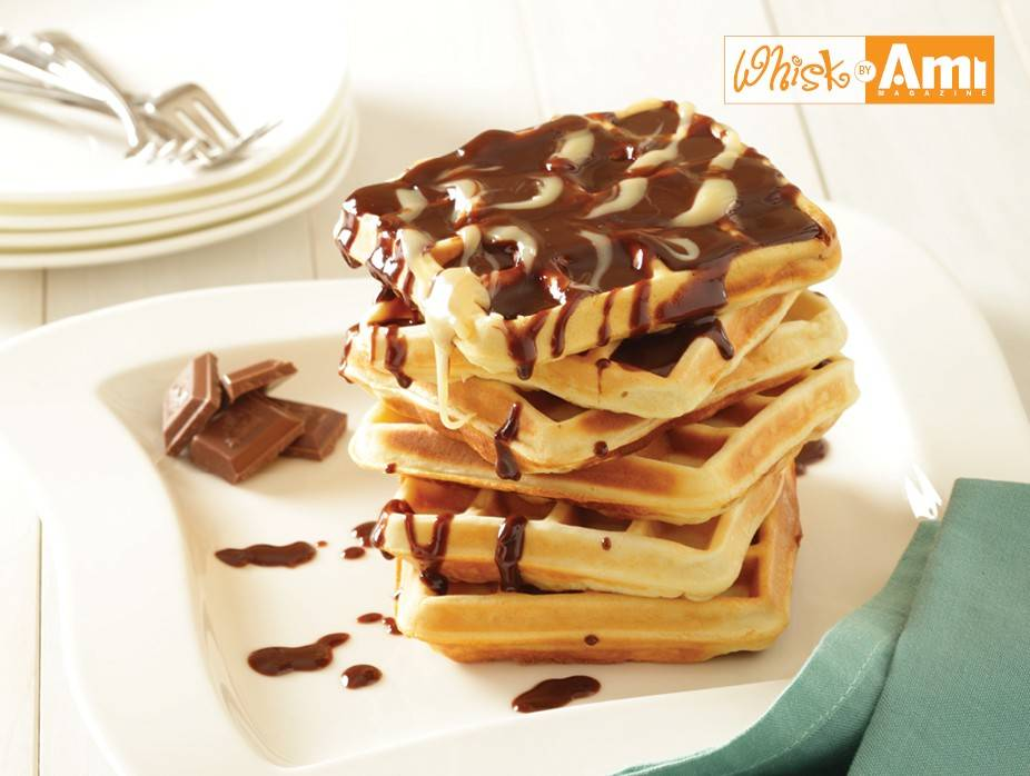 French Vanilla Waffles