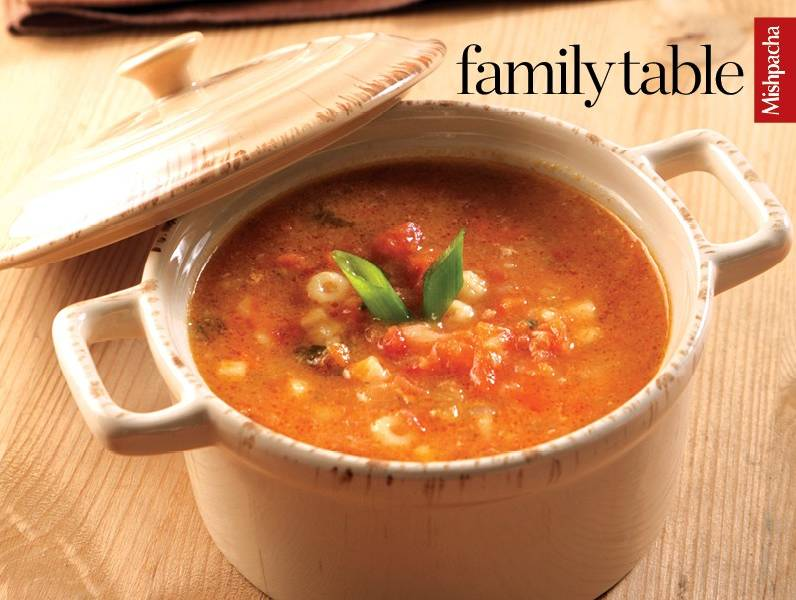 Minestrone Soup for Pesach