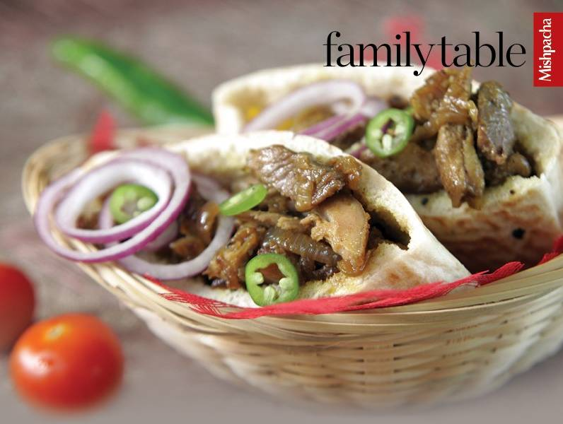 Turkey Shawarma (Pieces of Thinly Sliced Boneless Turkey)