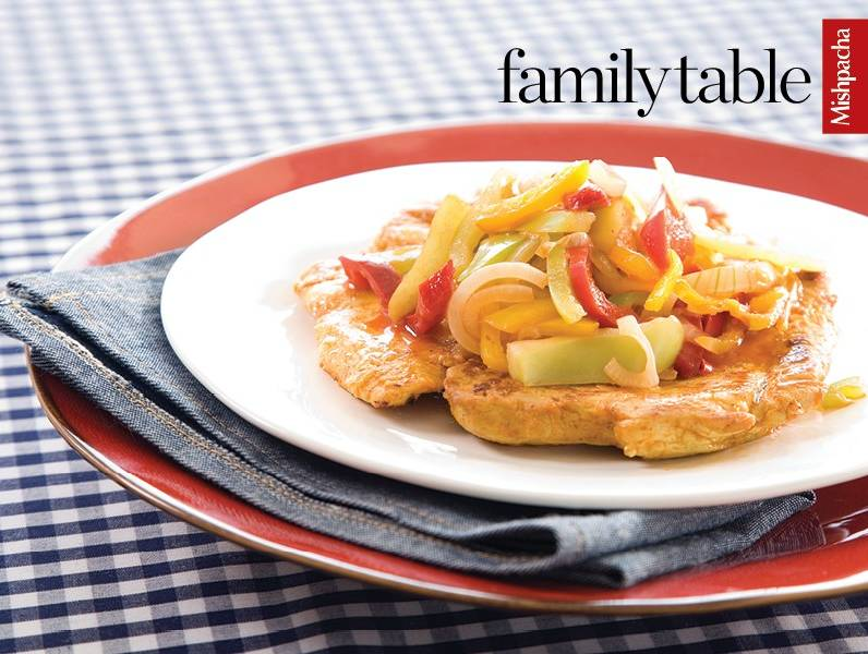 Chicken Steak with Peppers