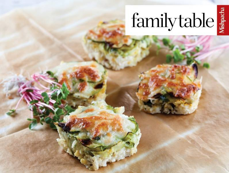 Parmesan Rice with Zucchini Filling (Gluten Free)