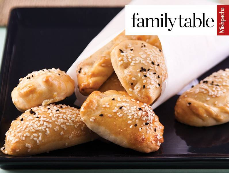 Empanadas with Eggplant and Feta Cheese Filling
