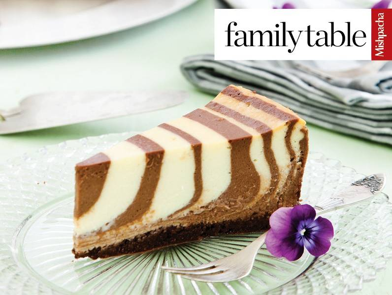 Concentric Circle Cheesecake
