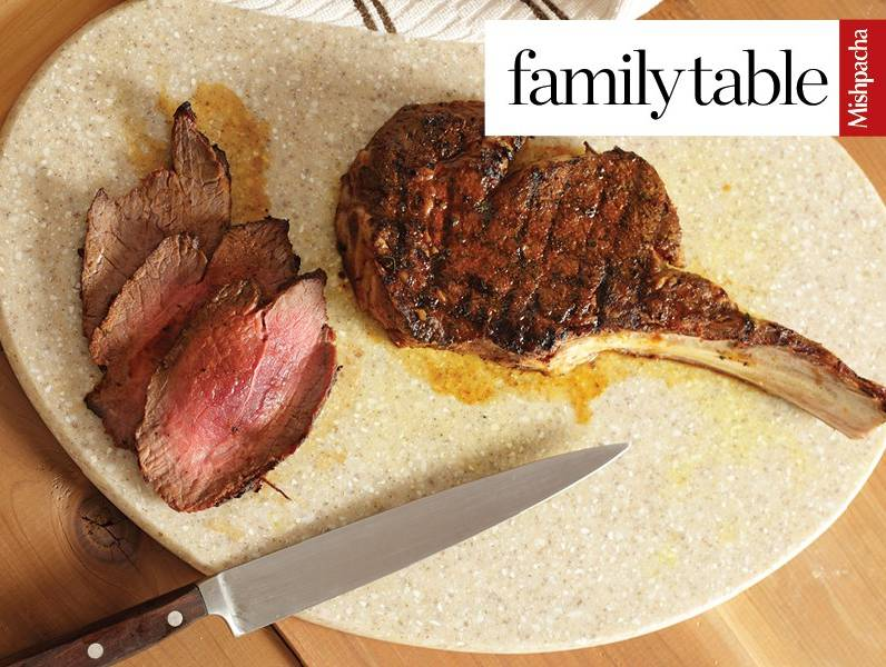 Grilled Steak With Never Fail Dry Rub