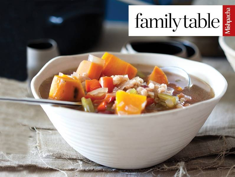 Wholesome Chunky Vegetable Soup