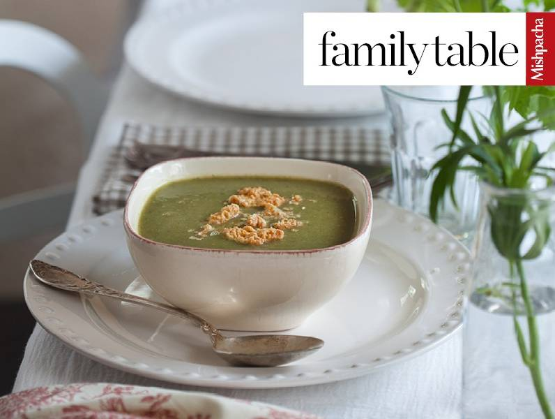 Aunt Fayge's Green Soup