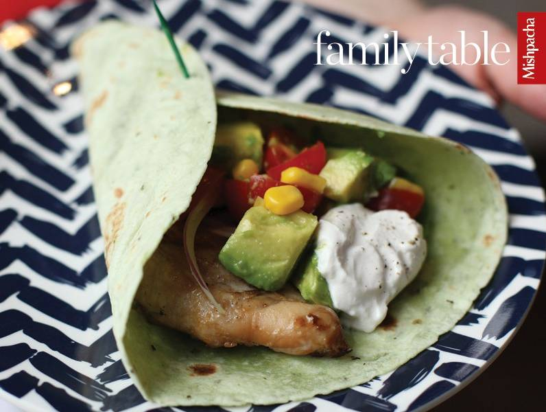 Mexican-Style Chicken Wraps
