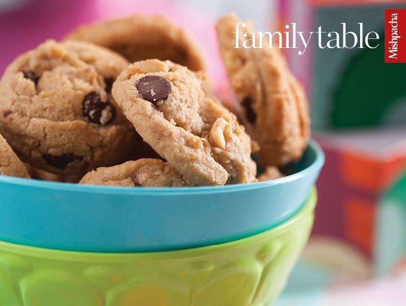Double Peanut Chocolate Chip Cookies