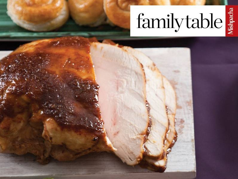 Turkey Breast with Caramelized Topping